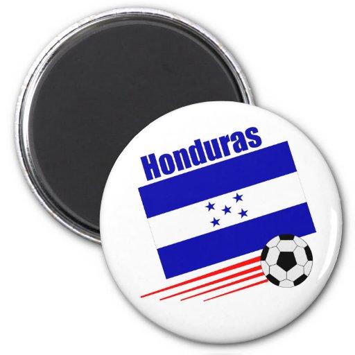 Honduran Soccer Team 6 Cm Round Magnet