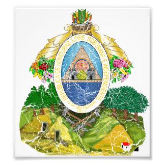 Honduras Coat Of Arms Photo
