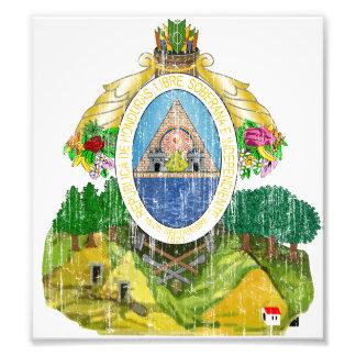 Honduras Coat Of Arms Photographic Print