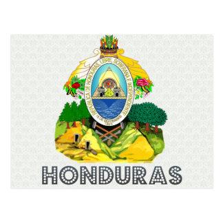 Honduras Coat of Arms Postcard