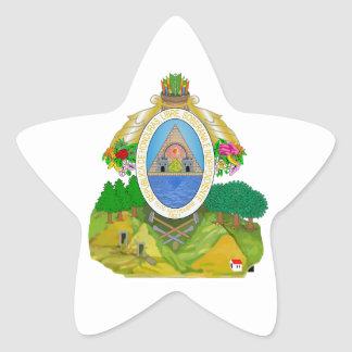 Honduras Coat of Arms Stickers