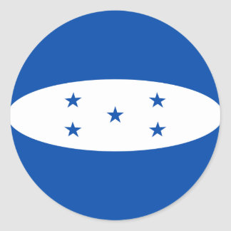 Honduras Fisheye Flag Sticker
