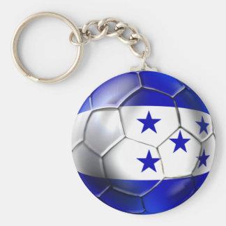 Honduras flag 5 star soccer ball futbol fans gifts keychains