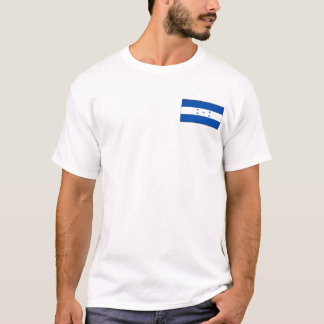 Honduras Flag and Map T-Shirt