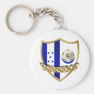 Honduras flag logo emblem La Catrachos Shield Key Ring