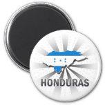 Honduras Flag Map 2.0