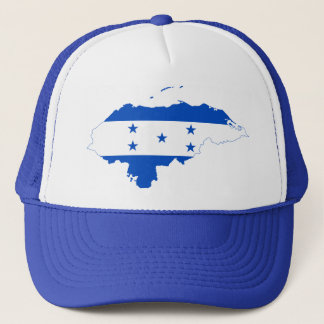 Honduras Flag Map HN Trucker Hat