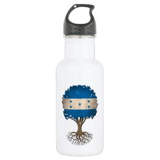 Honduras Flag Tree of Life Customizable 532 Ml Water Bottle