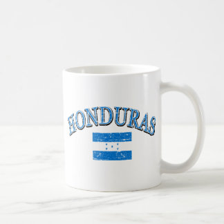 Honduras football design coffee mug