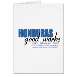 Honduras Good Works Card
