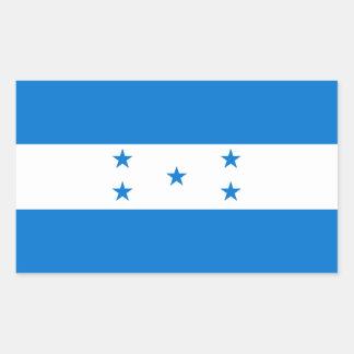 Honduras/Honduran Flag Rectangular Sticker