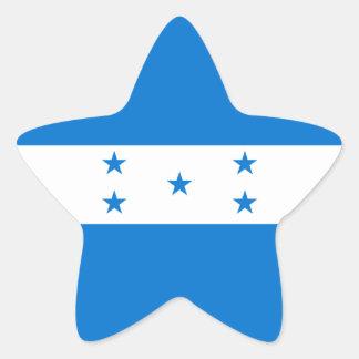 Honduras/Honduran Flag Star Sticker