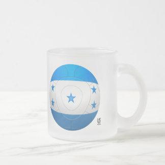 Honduras - Los Catrachos Football Frosted Glass Mug