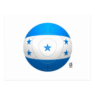 Honduras - Los Catrachos Football Postcard