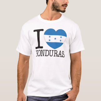 Honduras Love v2 T-Shirt