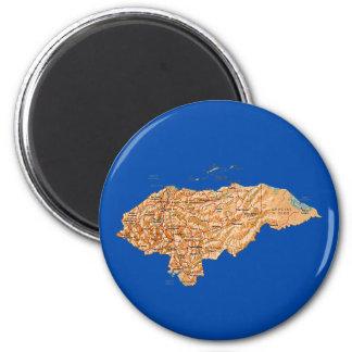 Honduras Map Magnet