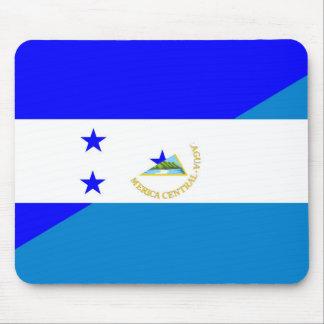 honduras nicaragua country half flag mouse mat