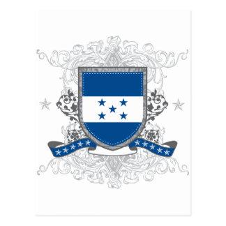 Honduras Shield Postcard