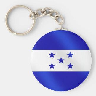 Honduras Soccer Key Ring