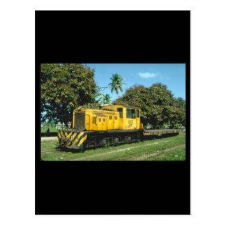 Honduras, Tele RR_Trains of the World Postcard
