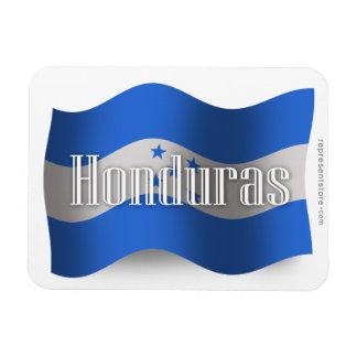 Honduras Waving Flag Rectangular Photo Magnet