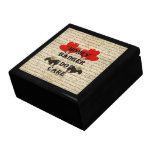 Hone badger do care large square gift box