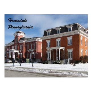 Honesdale Pennsylvania Postcard