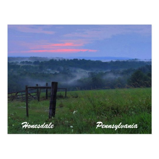 Honesdale Pennsylvania Postcard