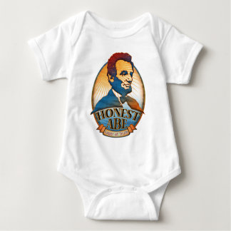 Honest Abe Lincoln Baby Bodysuit