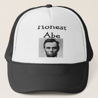 """""""Honest Abe"""" Lincoln T-Shirts and Gifts Trucker Hat"""