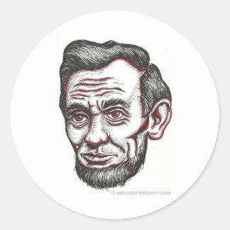 Honest Abe Sticker