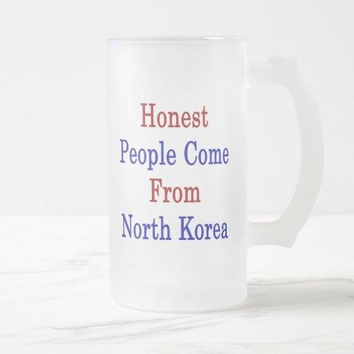Honest People Come From North Korea Mug