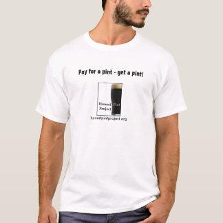Honest Pint Basic (white) T-Shirt