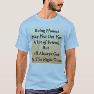 honest t shirt