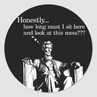 Honestly... Lincoln Stickers