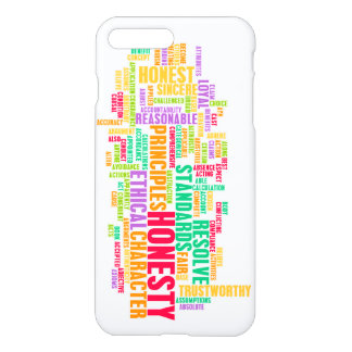 Honesty and Trustworthy Character of a Person iPhone 7 Plus Case