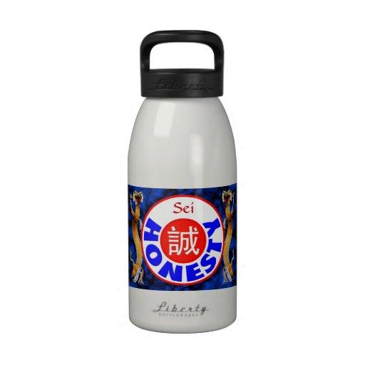 Honesty - Sei Dragon Water Bottle