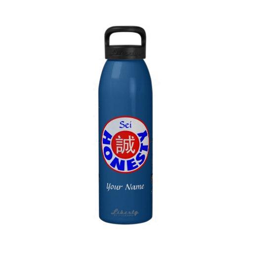 Honesty - Sei Dragon Reusable Water Bottles