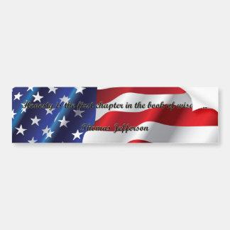 Honesty - Thomas Jefferson Bumper Stickers