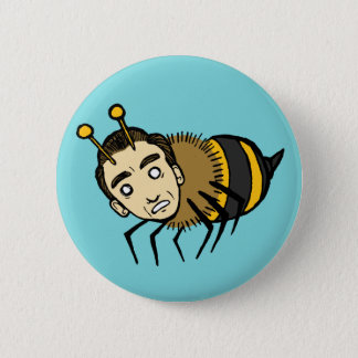 Honey 6 Cm Round Badge