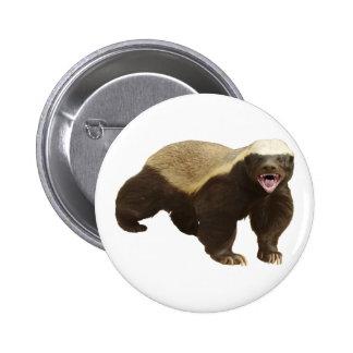 Honey Badger Pin