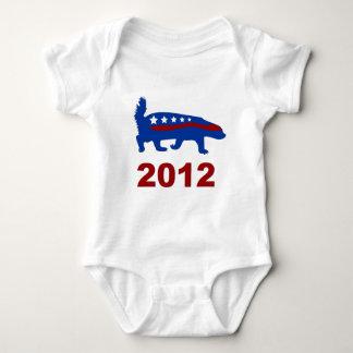 honey badger 2012 baby bodysuit