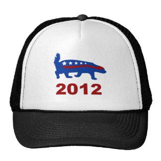 honey badger 2012 trucker hats