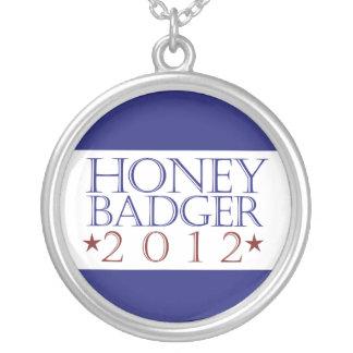Honey Badger 2012 Round Pendant Necklace