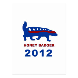 HONEY BADGER 2012 POSTCARD