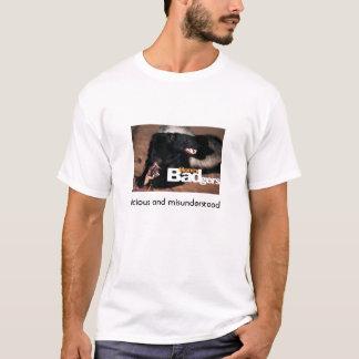 honey badger 3, vicious and misunderstood T-Shirt