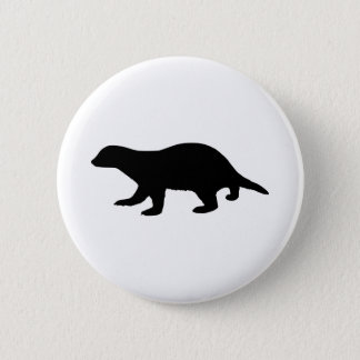 Honey Badger 6 Cm Round Badge