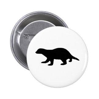 Honey Badger 6 Cm Round Badge