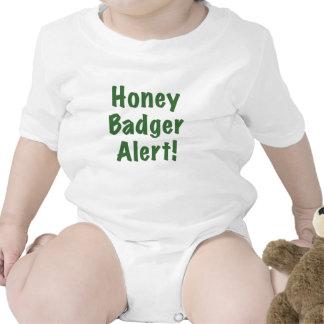 Honey Badger Alert Shirt