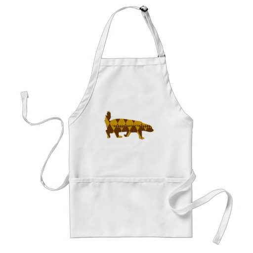 honey badger argyle aprons